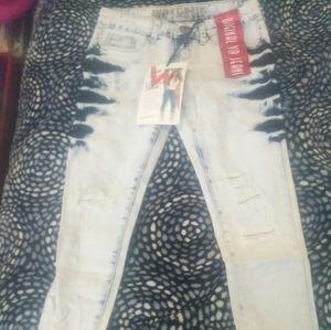 VIP ultra crop denim jeans